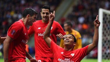 Sevilla se corona bicampeón de la Europa League venciendo 3-2 al Dnipro en emotiva final
