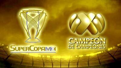 ¡Bienvenidos los Campeones! Por más grandeza Necaxa vs. Cruz Azul y América vs. Tigres
