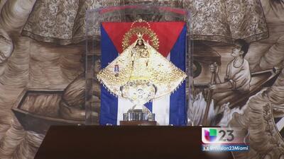 Festejan en la ermita a la Virgen de la Caridad