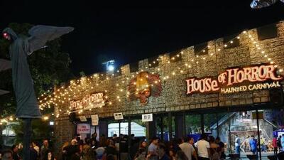 """La Casa del Horror en Miami promete una """"terrorífica"""" y divertida experiencia para celebrar Halloween"""