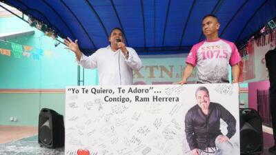 KXTN Hosts 'Get Well Soon' Event for Ram Herrera
