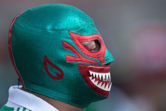 En fotos: el color del México vs Escocia desde el Estadio Azteca