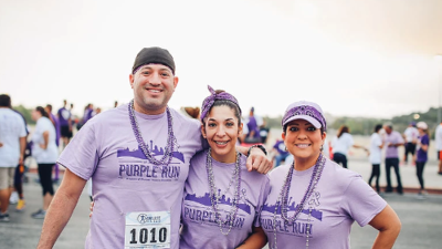 7th annual Purple Run against domestic violence