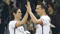 El Leeds a la carga: busca a Zlatan o Edinson Cavani