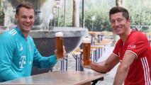 Lewandowski y Neuer, candidatos al mejor jugador de la UEFA