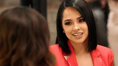 Becky G se encontró con su doble antes de ser reconocida por la Academia Latina de la Grabación