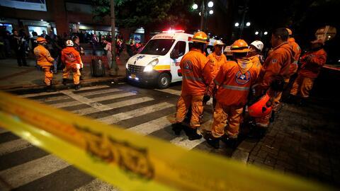 Tres mujeres pierden la vida tras una explosión en un centro comercial en Bogotá