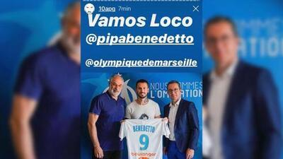 Gignac recomendó a Benedetto en Marseille