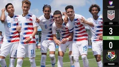 Estados Unidos 3-0 Panamá – Goles – Campeonato Sub-17