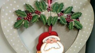 Adornos navideños, ¡disfrute haciéndolos usted!