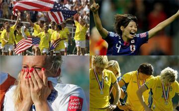 Algunas de las imágenes clásicas de la Copa Mundial Femenina de la FIFA