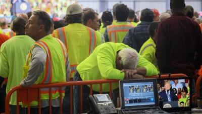 Ir al discurso de Trump o perder la paga del día: el dilema que enfrentaron los trabajadores de una petroquímica