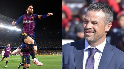 El técnico conoció al ídolo: Rafael Puente se tomó foto con Lionel Messi