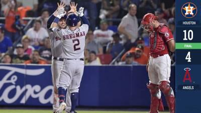 Los Houston Astros ganan de nuevo y se quedan con la Mexico Series
