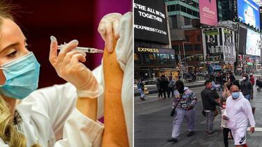 Ciudad de Nueva York planea vacunar a turistas en lugares populares