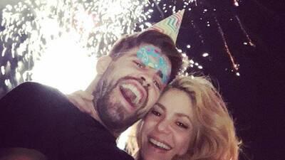 Shakira y Piqué celebran hoy sus cumpleaños