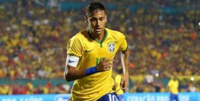 Neymar festeja el título de su cuñado con Flamengo