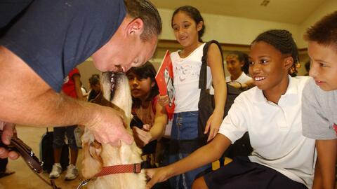 Conoce los beneficios para los niños de tener mascotas en la escuela