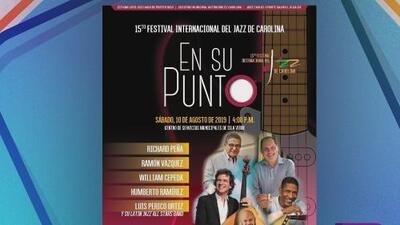 Todo listo para el Festival Internacional de Jazz de Carolina
