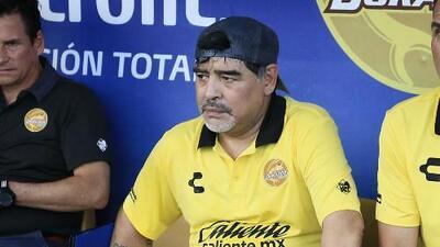 """Para Maradona, la Selección Mexicana """"está en el pozo"""""""