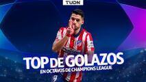 ¡Regresa la Champions! Golazos de Luis Suárez en Octavos