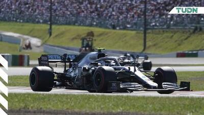 Bottas, de Mercedes, se lleva el Gran Premio de Japón
