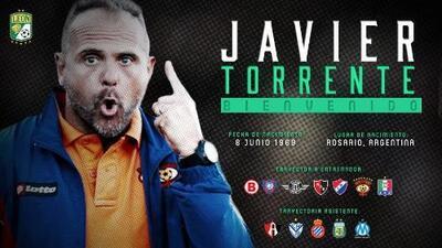 El argentino Javier Torrente es el nuevo técnico del León