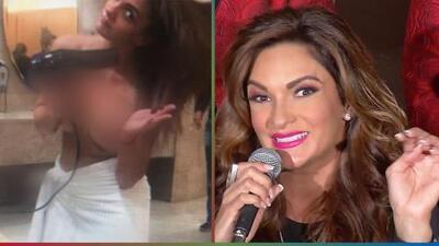 Mariana Seoane aclara lo sucedido con las fotos que le tomaron en 'topless'