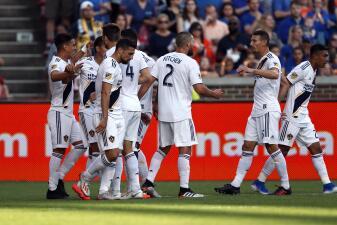 En fotos: LA Galaxy con Zlatan Ibrahimovic supera como visitante al FC Cincinatti