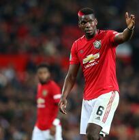 Pogba sigue fuera con el Manchester United