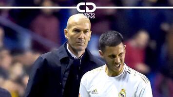 ¿Por precaución? Zinedine Zidane no convoca a Eden Hazard para su juego en LaLiga