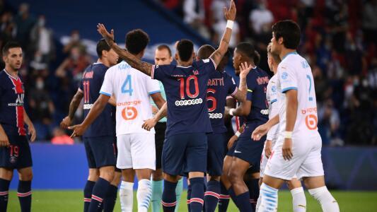 Neymar y Di María explotaron en derrota del PSG