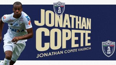 Ahora sí, Pachuca hace oficial fichaje de Jonathan Copete