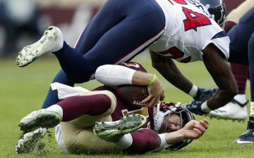 En fotos: la escalofriante lesión de Alex Smith que terminó con su temporada