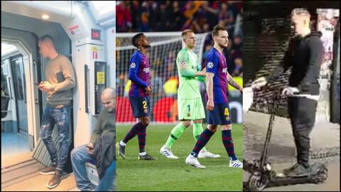 """El jugador del Barcelona que usa patín eléctrico y metro: """"Me quedan dos viajes en mi tarjeta"""""""