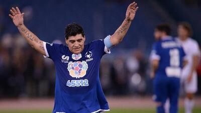 Un día como hoy hace 40 años debutó Diego Maradona