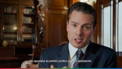 (Video) Con todo y guión, Peña Nieto la vuelve a regar en comercial para informe de gobierno