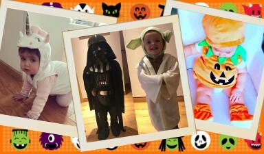 Gritarás de ternura: los hijos de estos famosos provocan sustos y suspiros en Halloween