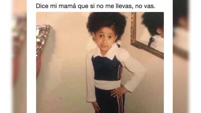 """""""Dice mi mamá"""" que estos son los mejores memes de la pequeña Cardi B"""