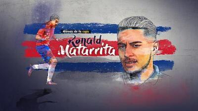 Ronald Matarrita Jugador de la Copa de Oro