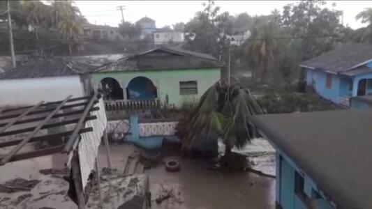 Así luce San Vicente tras una de las peores erupciones volcánicas de su historia