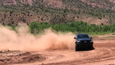 La Chevrolet Colorado ZR2 en fotos