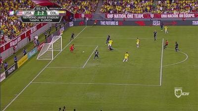 Carlos Bacca hace algo increíble y recupera el empate para Colombia