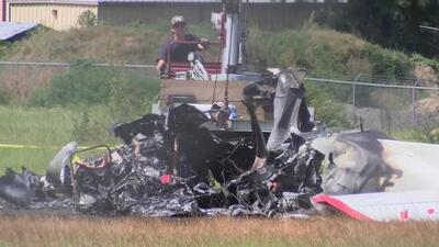 Identifican a víctimas mortales de un accidente en una avioneta