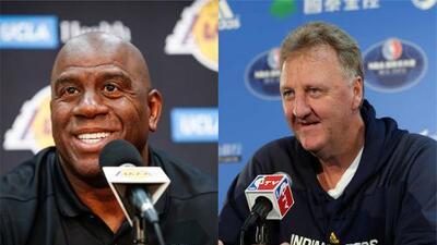 Magic Johnson y Larry Bird recibirán reconocimiento conjunto en gala de la NBA