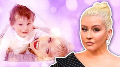 Christina Aguilera dejó pasar diez años para mostrar por (primera vez) a su hijo en redes