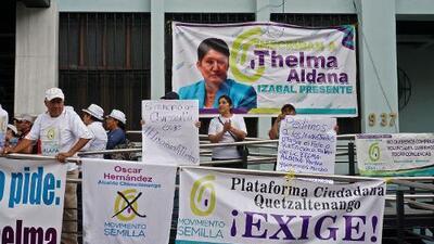 Sin la hija del dictador Ríos Montt ni la ex fiscal general: la justicia reduce los candidatos para las elecciones de Guatemala