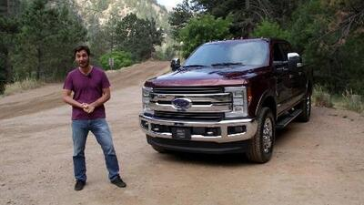 Ford F-Series Super Duty 2017 –  Prueba A Bordo Completa