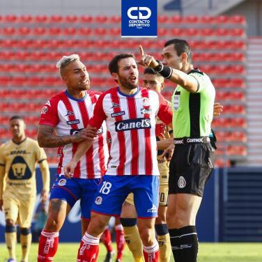 Para Chiquimarco, al San Luis le quitan penal y uno de los tres goles