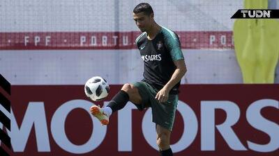 ¿Lesionado? Cristiano se entrena con normalidad en Portugal